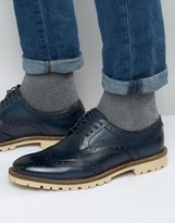 Base London Raid Derby Brogue Shoes