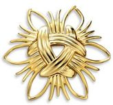 Kenneth Jay Lane Abstract Sunburst Pin