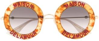 Gucci Maison de L'amour unisex sunglasses