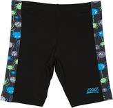 Zoggs Tots Boys Critters Spliced Jammer Swimwear Black