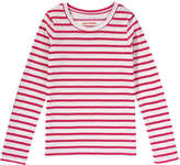 Joe Fresh Kid Girls' Print Tee, Pink (Size XL)