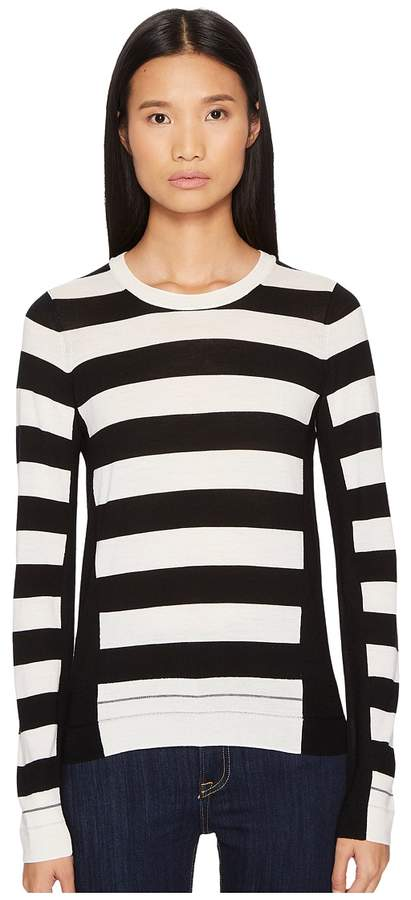 Sonia Rykiel Long Sleeve Stripe Pullover