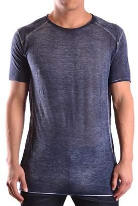 Avant Toi Men's Blue Viscose T-shirt