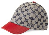 Gucci 'Junior' Check Hat - Red