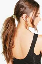 boohoo Amber Curved Metal Hair Band gold