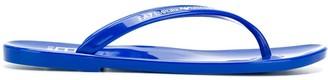 Ea7 Emporio Armani Thong-Strap Flip Flops