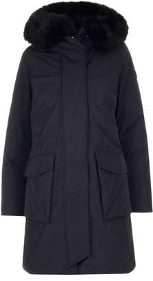 Woolrich Fox Fur Hooded Parka Coat