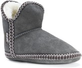 Muk Luks Womens Maddy Amira Slippers with Faux Sherpa Lining