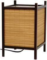 Oriental Furniture Kobayashi Japanese Bamboo Matchstick Lamp(B)