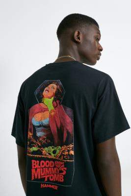 Urban Renewal Vintage Inspired By Vintage Blood Tomb T-Shirt - black S at Urban Outfitters