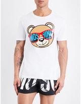 Moschino Teddy Bear Stretch-cotton T-shirt