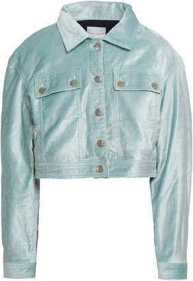 Each X Other Cropped Cotton-blend Velvet Jacket