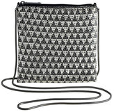 Whiting & Davis Deco Triangle Mesh Cross-Body Bag