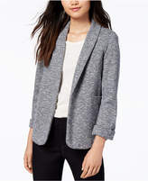Maison Jules Marled Knit Blazer, Created for Macy's