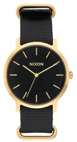 Nixon Men's Porter Nylon Strap Watch, 40Mm