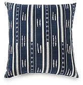 Daniel Cremieux Striped Slub Cotton Oversized Square Pillow
