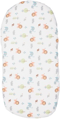 Chicco Baby Hug Crib Fitted Sheets, Pack of 2, Little Animals