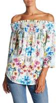 Fifteen-Twenty Fifteen Twenty Floral Off the Shoulder Blouse