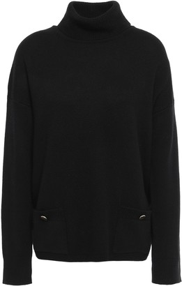 Kate Spade Merino Wool And Cashmere-blend Turtleneck Sweater