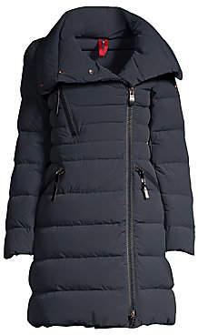 Post Card Women's Zip Detail Puffer Coat