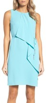 Adrianna Papell Women's Ruffle Crepe Dress