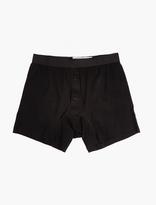 Comme Des Garcons Shirt X Sunspel Black Cotton Briefs