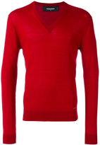 DSQUARED2 V-neck pullover - men - Wool - M