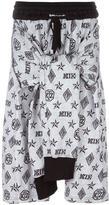 Kokon To Zai monogram tied up shorts - men - Cotton - S