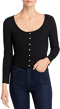 Comune Galesville Button-Front Top