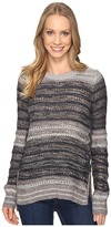 Lucky Brand Striped Lace-Up Pullover