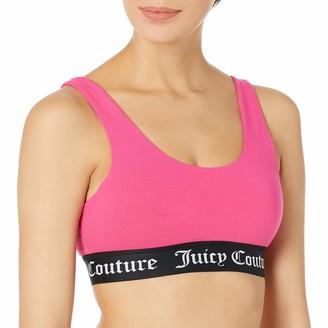 Juicy Couture Women's Cotton Logo Bra Sports