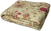 GREENLAND HOME FASHIONS Greenland Home Fashions Antique Rose Quilted Cotton Throw