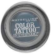 Maybelline Color Tattoo By Eyestudio 24 Hr Eye Shadow Test My Teal
