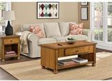 Altra San Antonio Wood Veneer Coffee Table