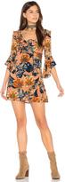 For Love & Lemons Flamenco Mini Dress