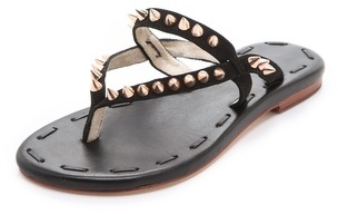 Matt Bernson Love Spike Suede Sandals