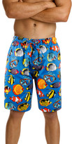 Mitch Dowd TROPICAL FISH PRINTED SLEEP SHORT