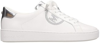 Michael Kors Keaton Sneakers In White Leather