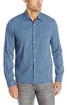 Scotch & Soda Men's Double Layer Button-Down Shirt