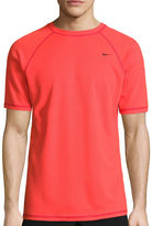 Nike Solid Short Sleeve Swim Tee