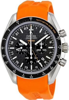 Omega Men's 321.92.44.52.01.003 Speedmaster Black Carbon Fiber Dial Watch