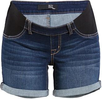 1822 Denim RE:Denim Maternity Shorts