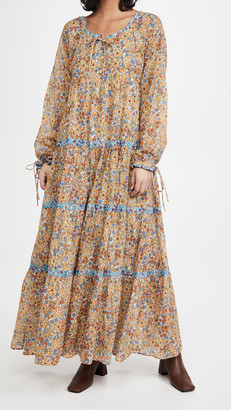 Warm Colonial Dress