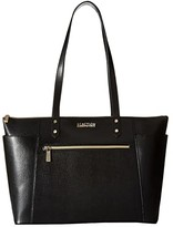 Kenneth Cole Reaction Downtown Darling - Make A Mental Tote (Black) Tote Handbags