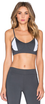 So Low SOLOW Sport Mesh Block Bralette
