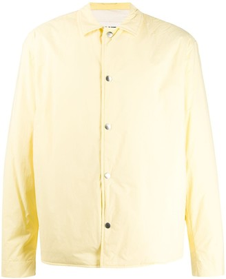 Jil Sander Point-Collar Shirt Jacket