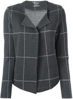 Majestic Filatures checked cardigan - women - Cotton/Cashmere - 2