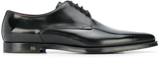 Dolce & Gabbana pointed toe lace-up shoes