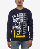 Sean John Men's Split Graphic-Print Long-Sleeve T-Shirt, Created for Macy's