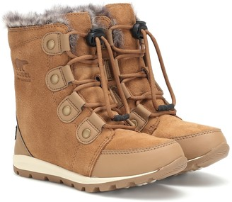 Sorel Kids Whitney suede ankle boots